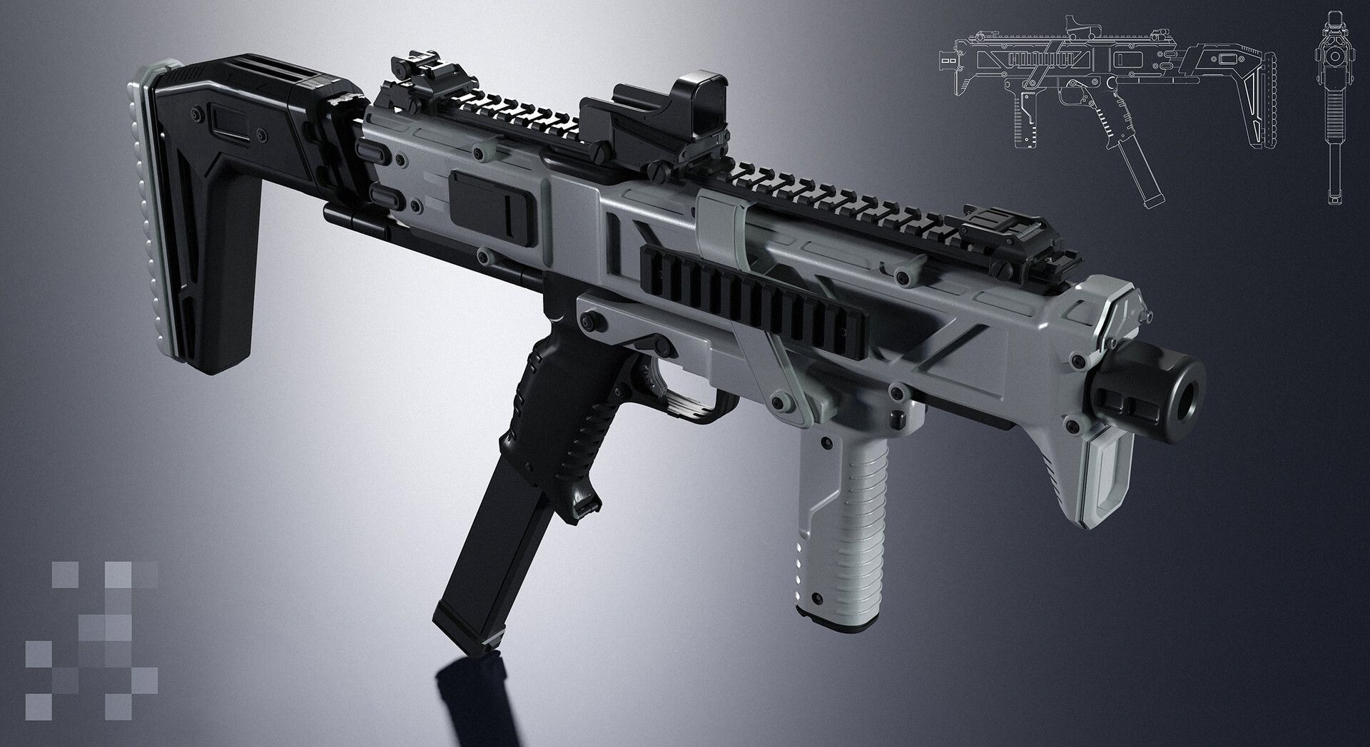 Pin on SMG