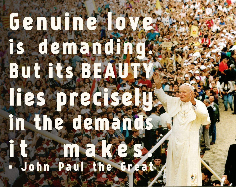 Pope John Paul Ii Quotes Youth: Madison Catholic Youth …