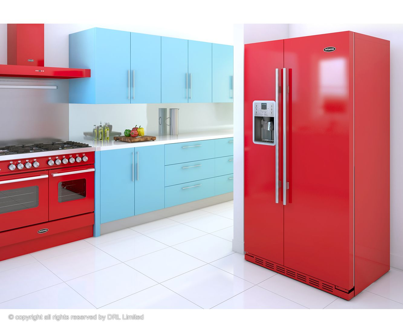 Pin by Cosmidis Coating on KITCHEN Ι bright colors Ι ΚΟΥΖΙΝΑ: έντονα ...