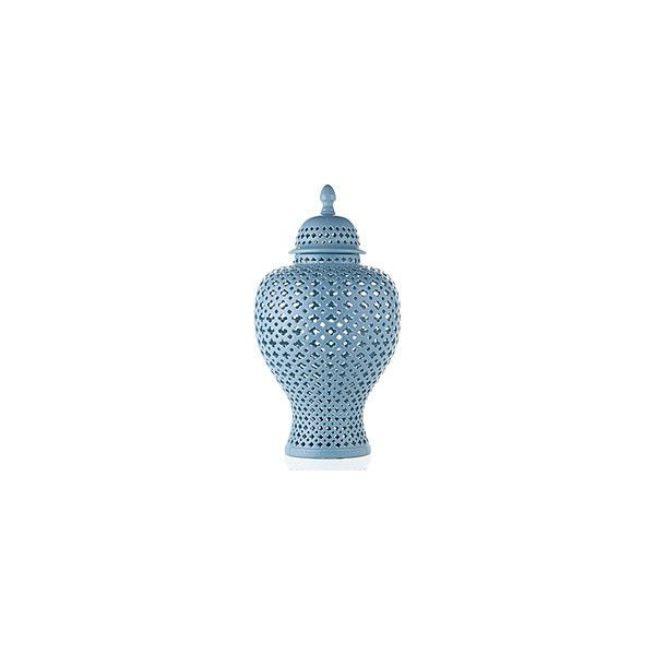 Z Gallerie Porcelain Filigree Urn French Blue 100 liked