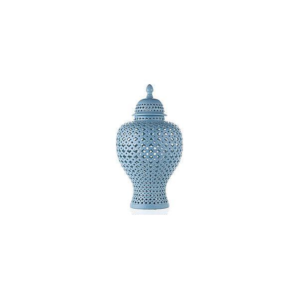Z Gallerie Porcelain Filigree Urn French Blue 100 liked