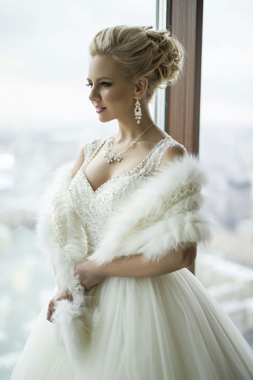 Lovely bridal look Make up, hairstyles Web: www.elstile.ru, www ...