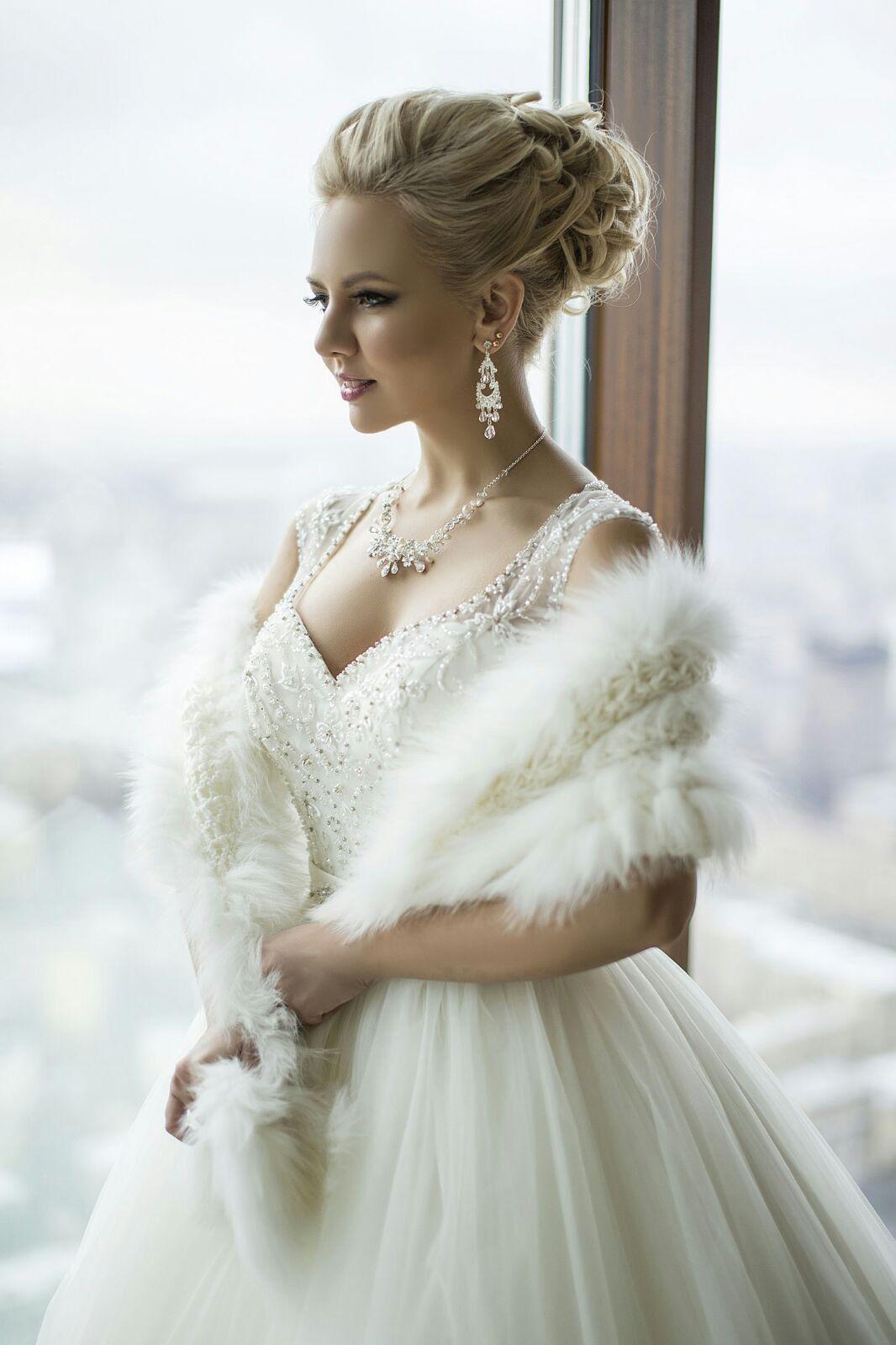 Lovely bridal look Make up, hairstyles Web: www.elstile.ru, www ...
