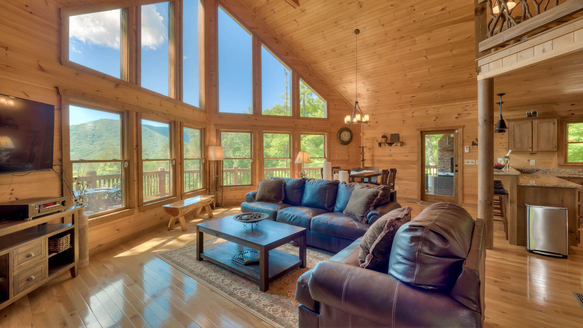 Mountain Dream Lodge Rental Cabin Blue Ridge Ga Lodge