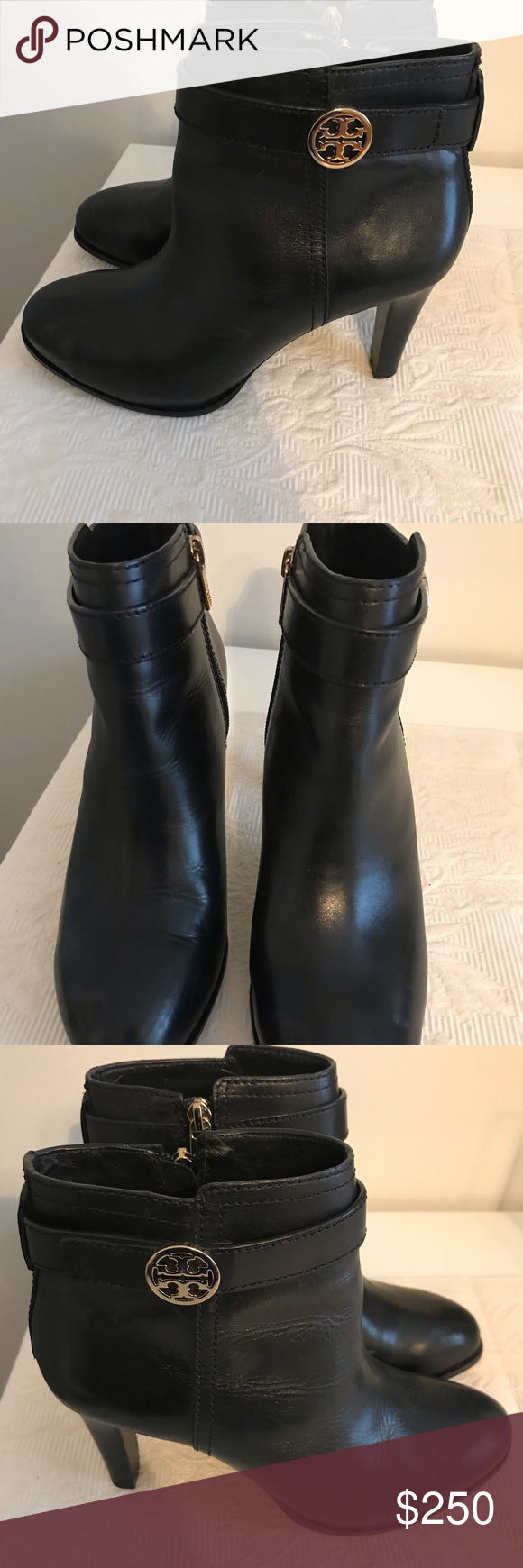 86729f24d3c Tory Burch Black Leather Bootie Authentic This boot is in brand new  condition. Beautiful leather and comfortable. Tory Burch Shoes Ankle Boots    Booties