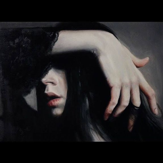 By Kate Zambrano, oil on panel.