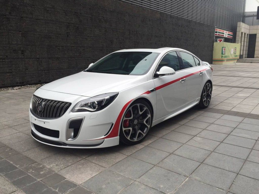 2015 irmscher opel insignia opc modified kit published