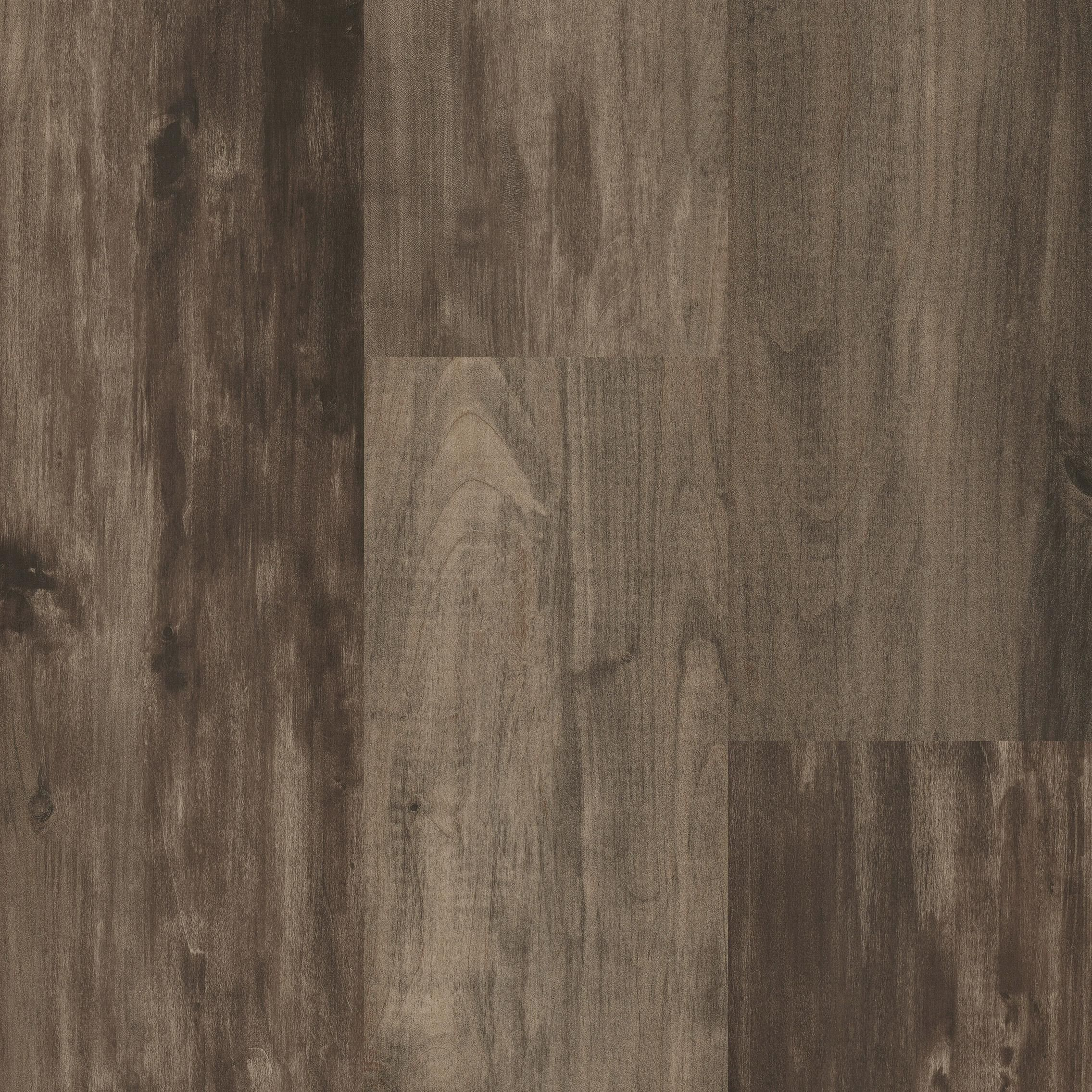 "IVC California Walnut 7.56"" Waterproof Click Together LVT"