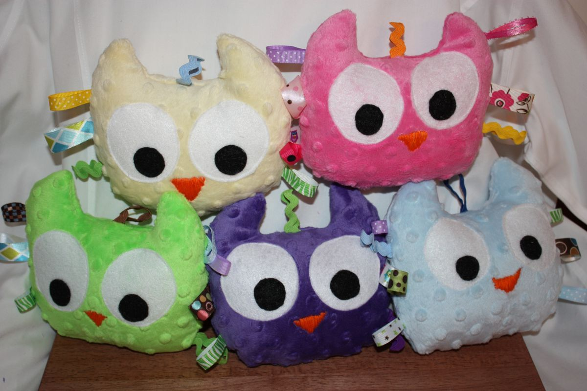 Cute toys images  Plush Taggie Owl Baby Toythese cute baby toys can be ordered from