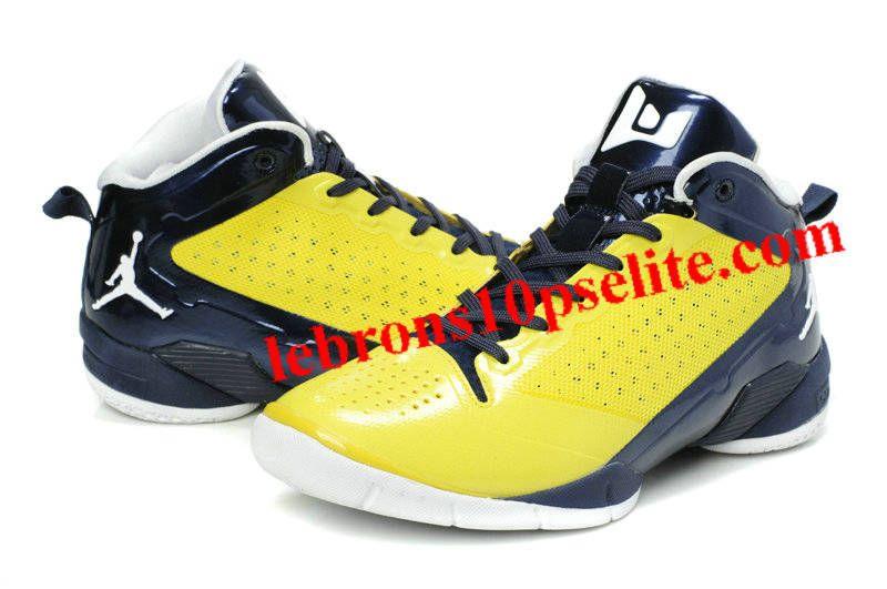 Derrick Rose Shoes  Jordan Fly Wade 2 Black/Yellow