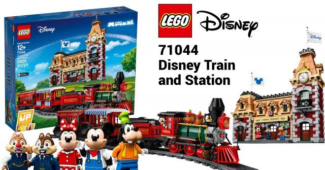 Brand New Sealed Train and Station 71044 Instruction Complete Set