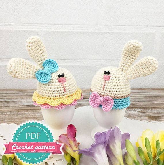 Easter Egg Warmer Pattern, Crochet Egg Pattern, Easter Pattern ...