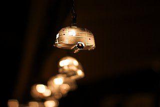 Festive airstream lights