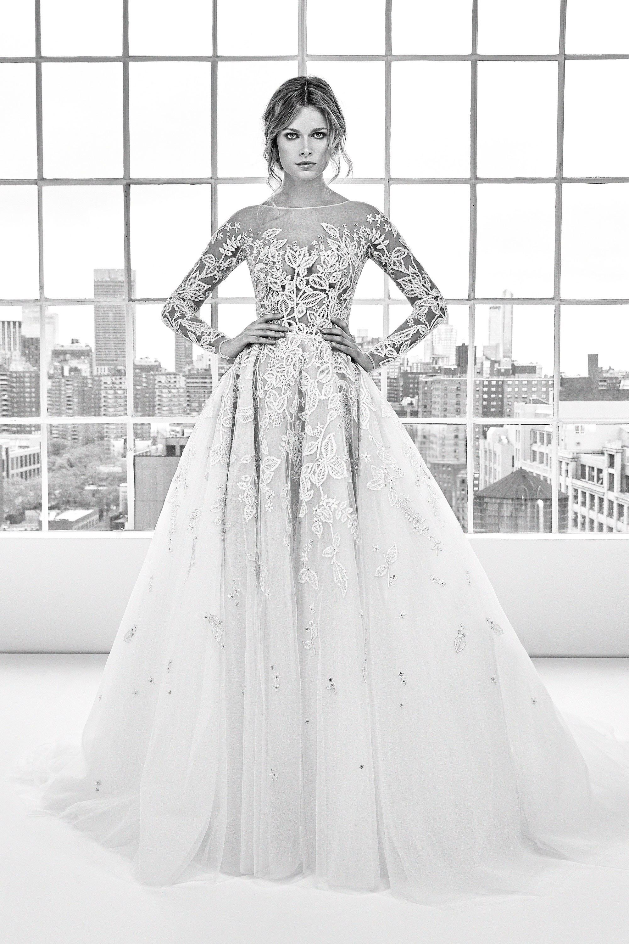 Fashion style Murad zuhair spring bridal collection for girls