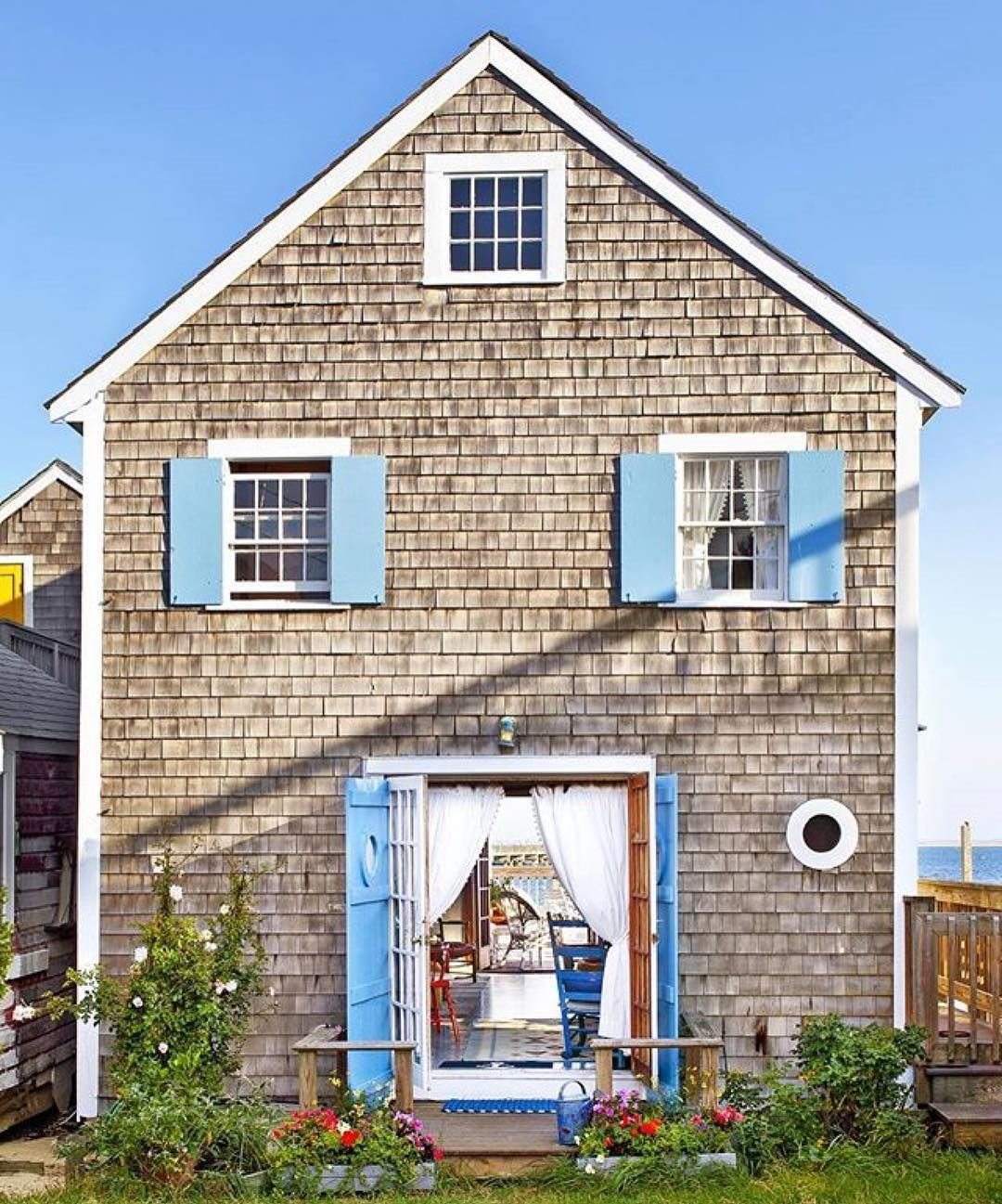 Pin By Little Yellow Cottage On Cozy Cottage Living: Pin By Little Yellow Cottage On ***Curb Appeal***