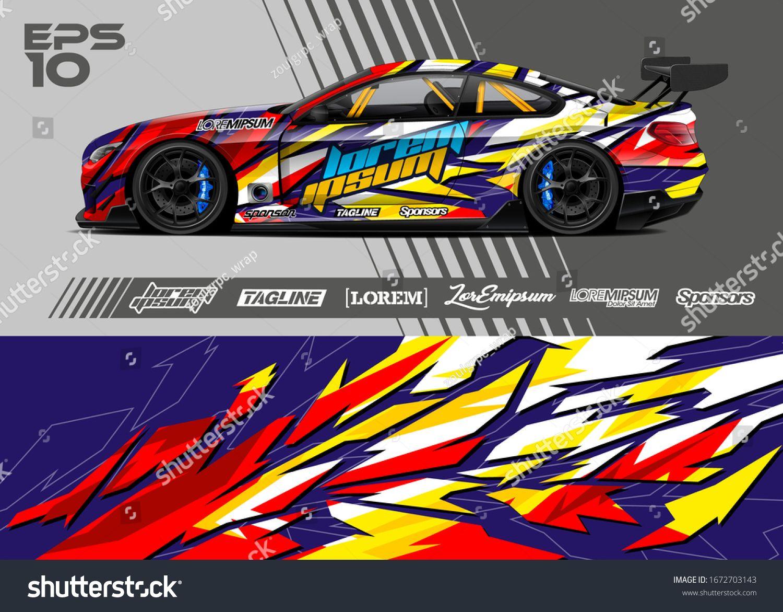 Vektorillustration Fur Grafikdesign In Autoverpackung Abstrakter Stock Vektorgrafik Lizenzfrei 1672703143 In 2020 Grafik Design Vektorgrafik Grafik