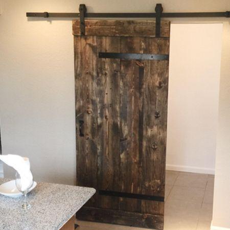CUSTOM Industrial BARN DOORS For Your Home. This Industrial Barn Door Fits  Many Great Spaces. Industrial Barn Door Design. FAST SHIPPING. (720)  500 3985