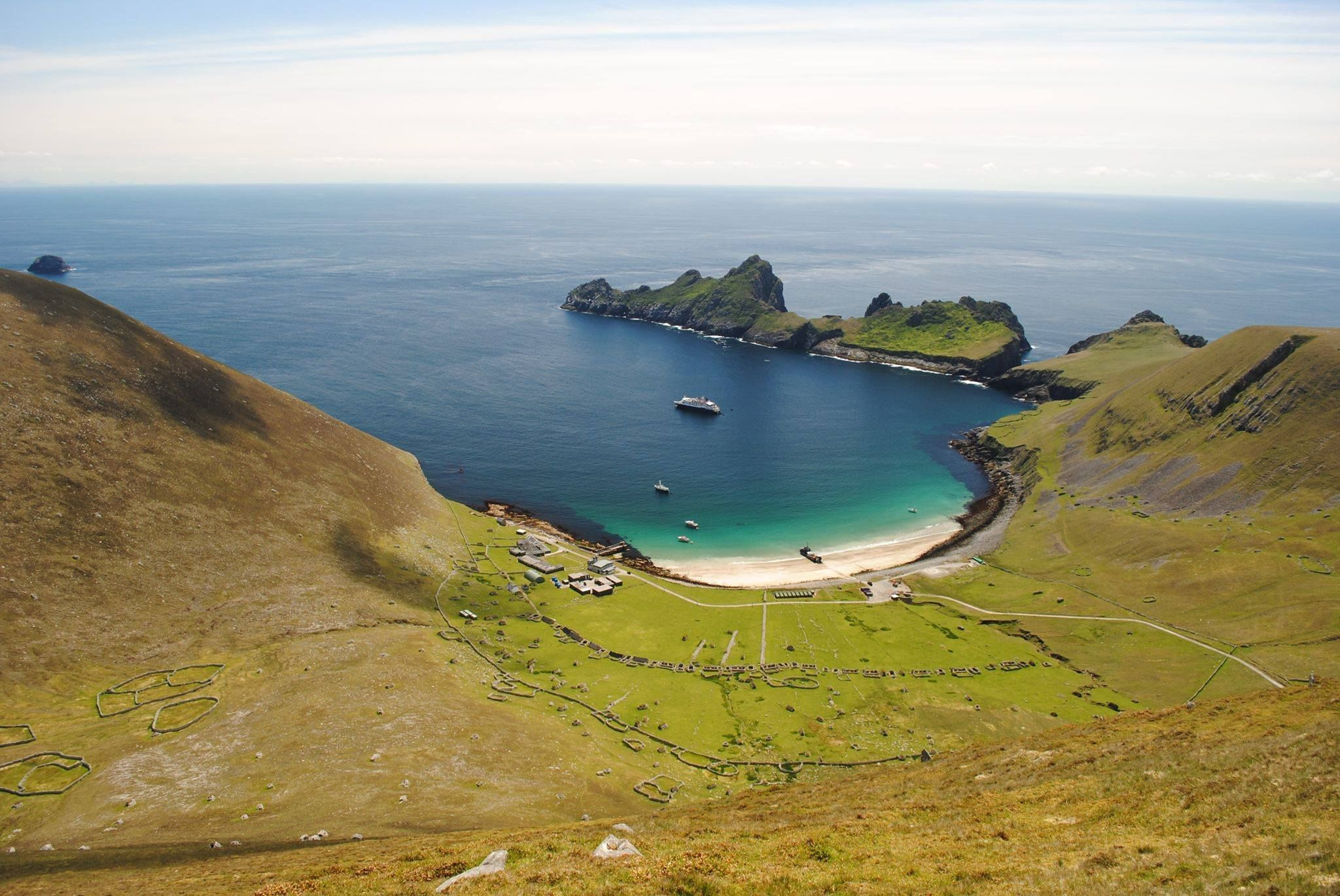 Village Bay, Hirta, St Kilda - Scotland