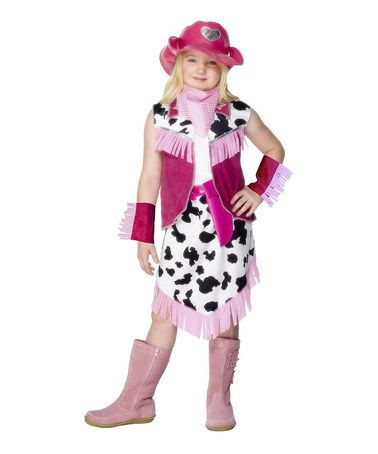 Smiffyu0027s Pink Rodeo Girl Dress-Up Outfit - Girls  sc 1 st  Pinterest & Take a look at this Pink Rodeo Girl Dress-Up Outfit - Girls by ...