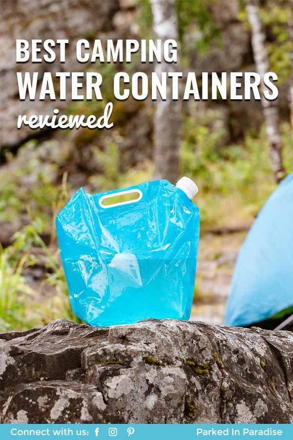 Best Camping Water Container Camping water, Water