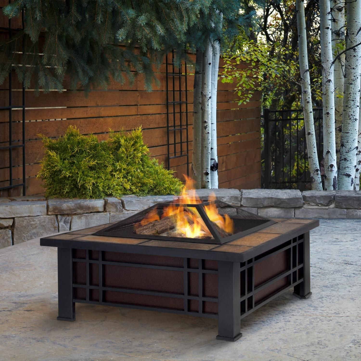 breathtaking round firepit area ideas for summer outdoor