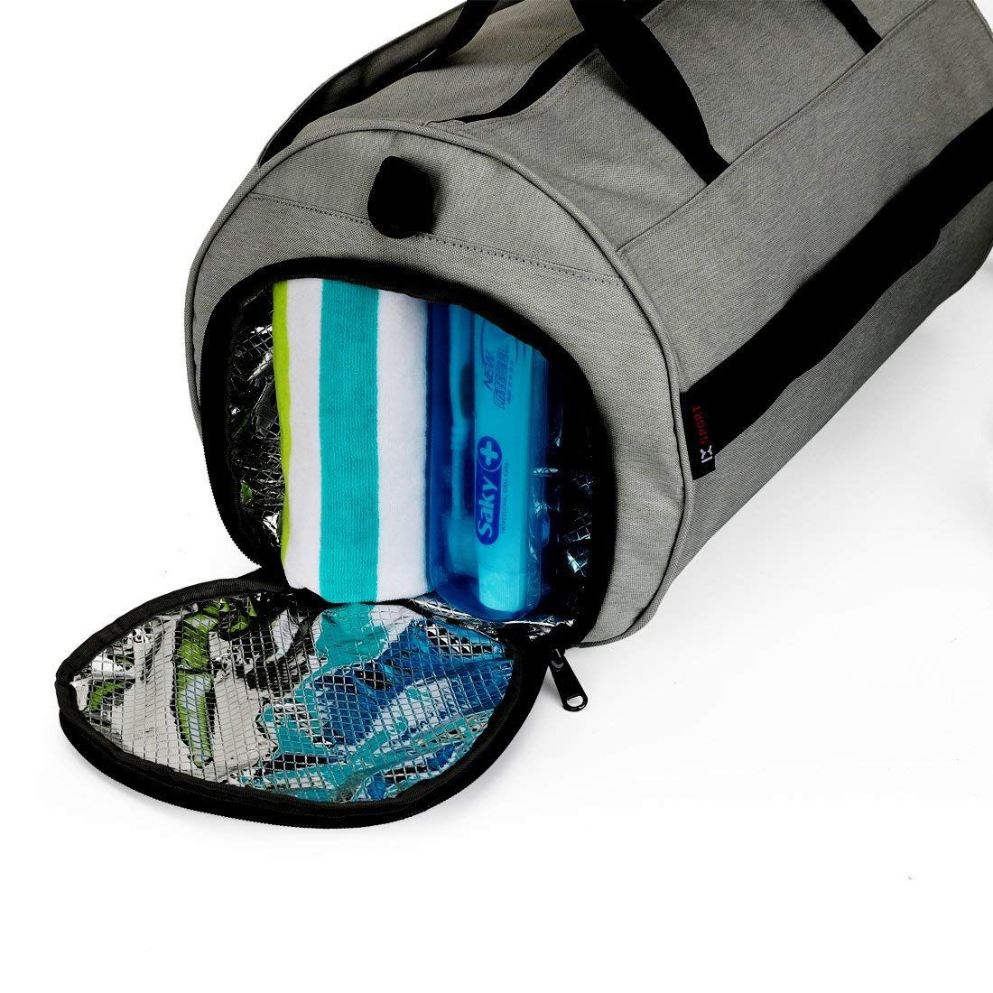24f5053db68 Amazon.com   INOXTO Fitness Sport Small Gym Bag with Shoes Compartment  Waterproof Travel Duffel