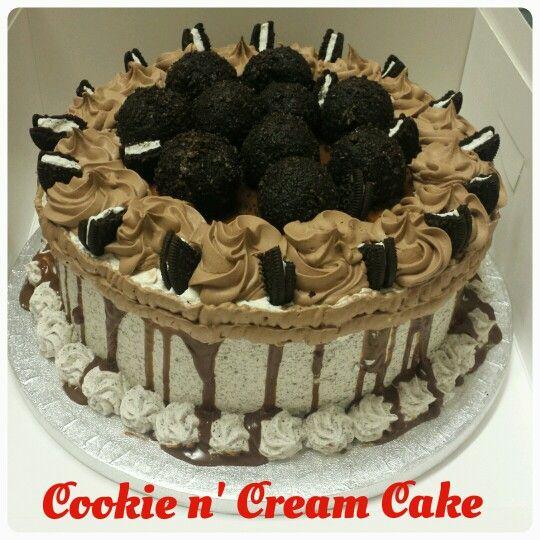 cookie  n' cream cake