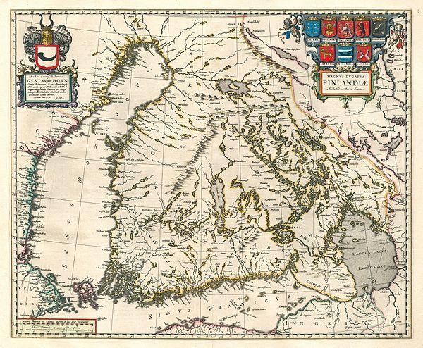Suomen Historia Wikipedia Kartta Vanhat Kartat Historia