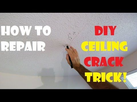 How To Repair A Cracked Drywall Ceiling Trick Foot Through Attic Foot Step On Attic Drywall Ceiling Ea Drywall Ceiling Repair Ceilings Diy Repair Ceilings