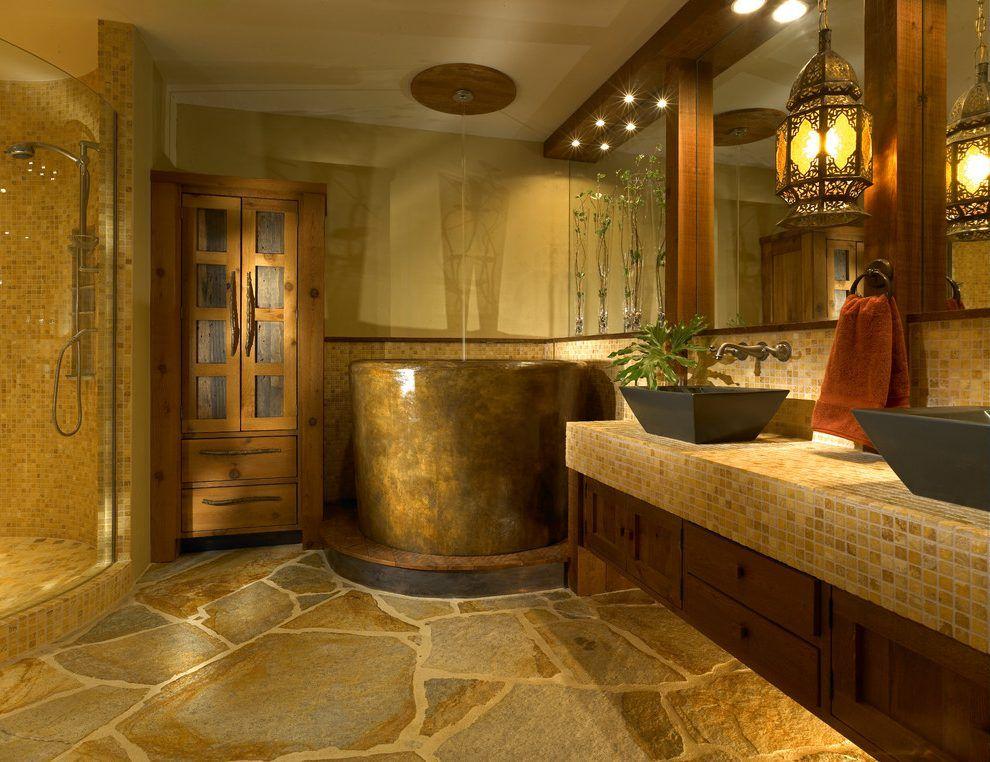 Super Image Result For Rustic Wet Room Grounded Natural Bathroom Download Free Architecture Designs Scobabritishbridgeorg