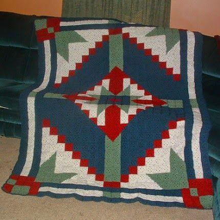 Desert Star Crochet Quilt - Free Pattern | Crochet-1: All About ...