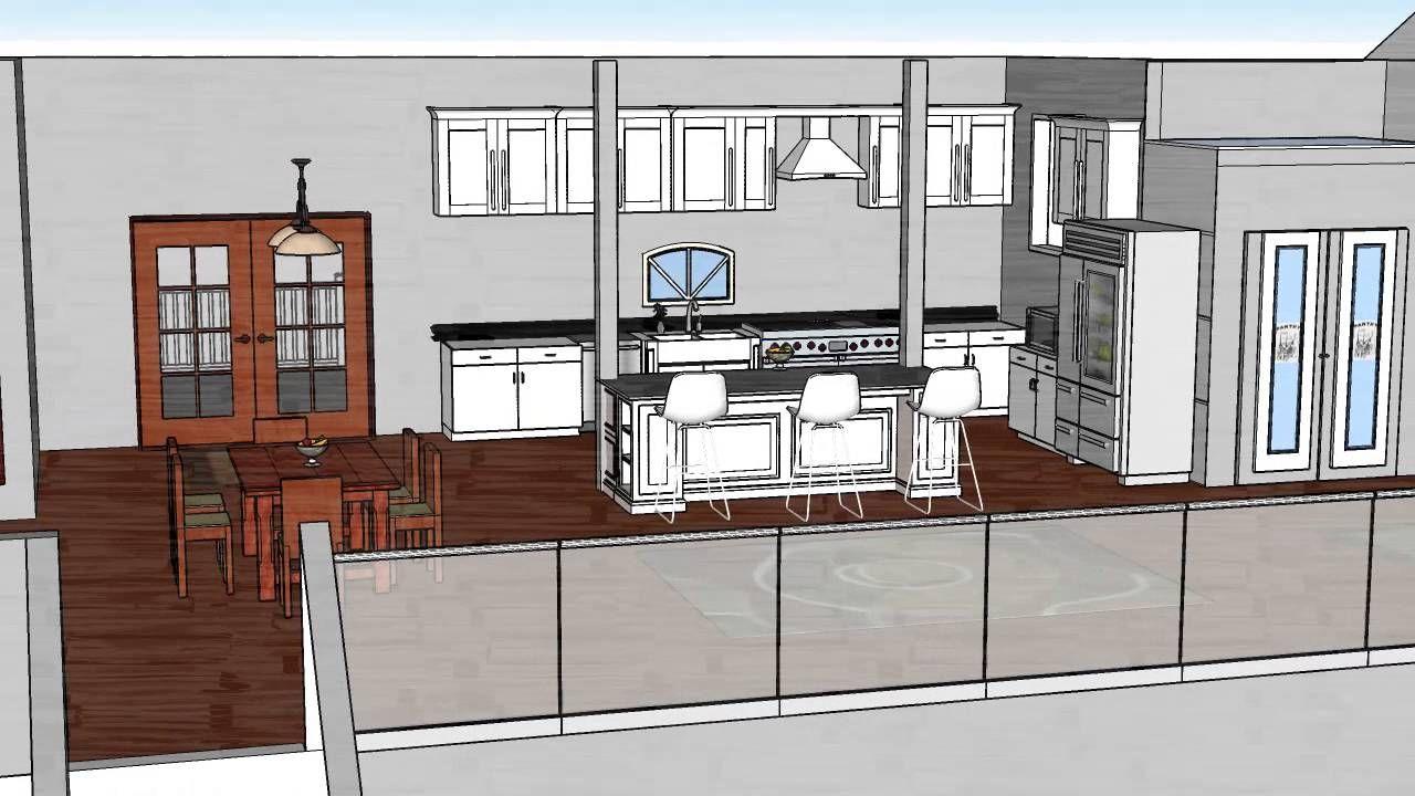 kitchen renovation design with sketchup pro. Kitchen Setup Ideas ...
