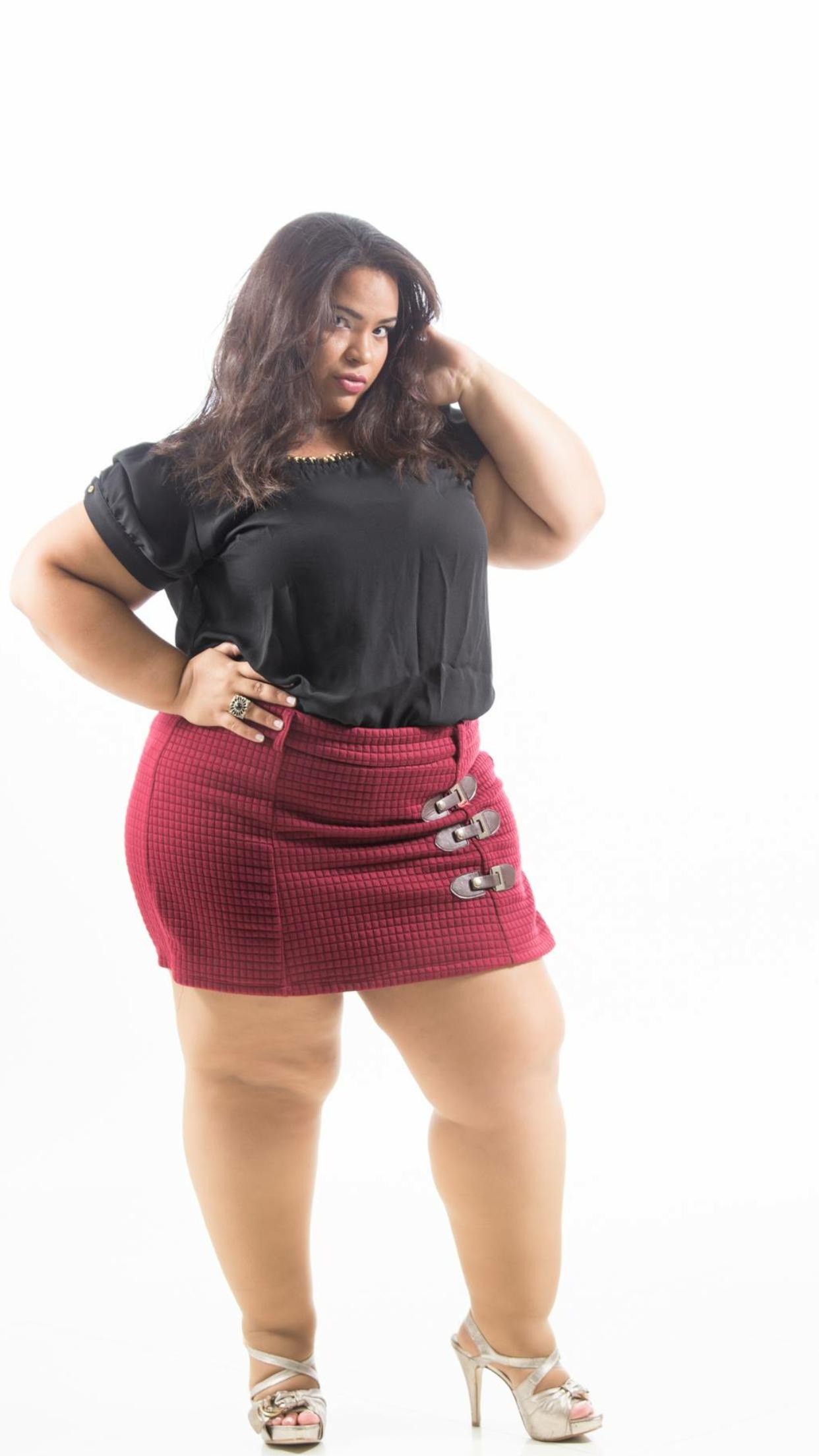 skirt short Big legs