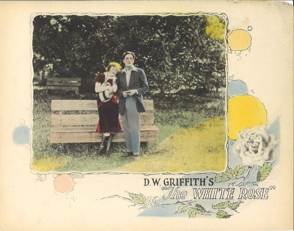 Dw griffiths the white rose 1923 mae marsh ivor
