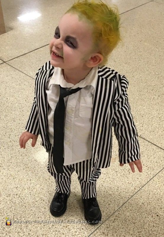 Halloween Costumes For Kids 2019.Coolest Baby Beetlejuice Costume Costumes In 2019