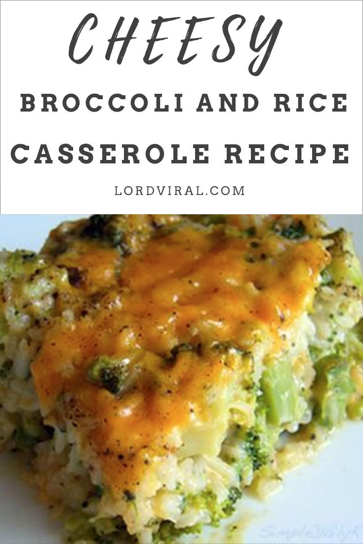 Photo of Cheesy Broccoli-Rice Casserole is a perfectly tasty side dish for Easter, Thanks…