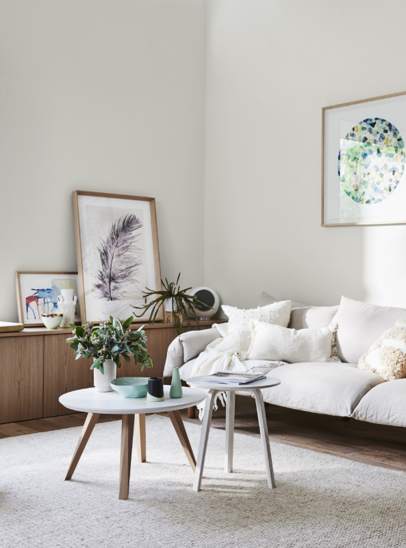 Dulux Whisper White The Most Perfect Ivory A Lush Warm White That Works Beautifully With Dulux Paint Colours White Bedroom Color Schemes White Paint Colors #warm #living #room #colour #schemes