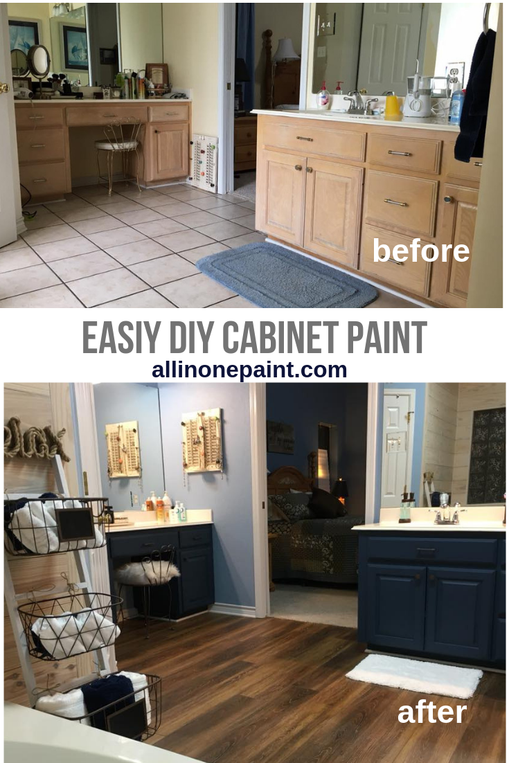 Easy Diy Cabinet Paint Painting Cabinets Diy Painting Cabinets Painted Furniture Colors