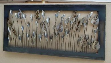 Outdoor Metal Wall Art - x mm - Large Silver Lilies - Wholesale Indoor and Garden Pots based in Melbourne - from factory direct to public & metal art - Google Search | Accessories | Pinterest | Art google ...