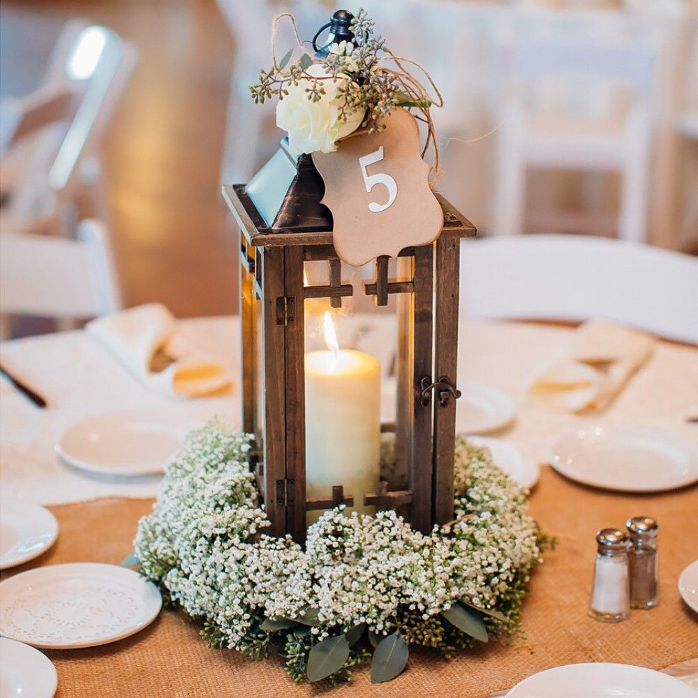 Nice cute and gorgeous rustic wedding centerpieces