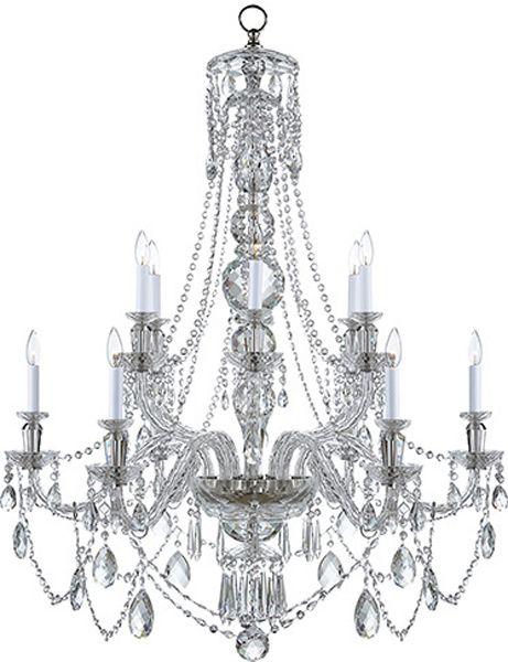 Daniela Crystal Chandelier Lighting Fixtures Lighting Ralph Lauren