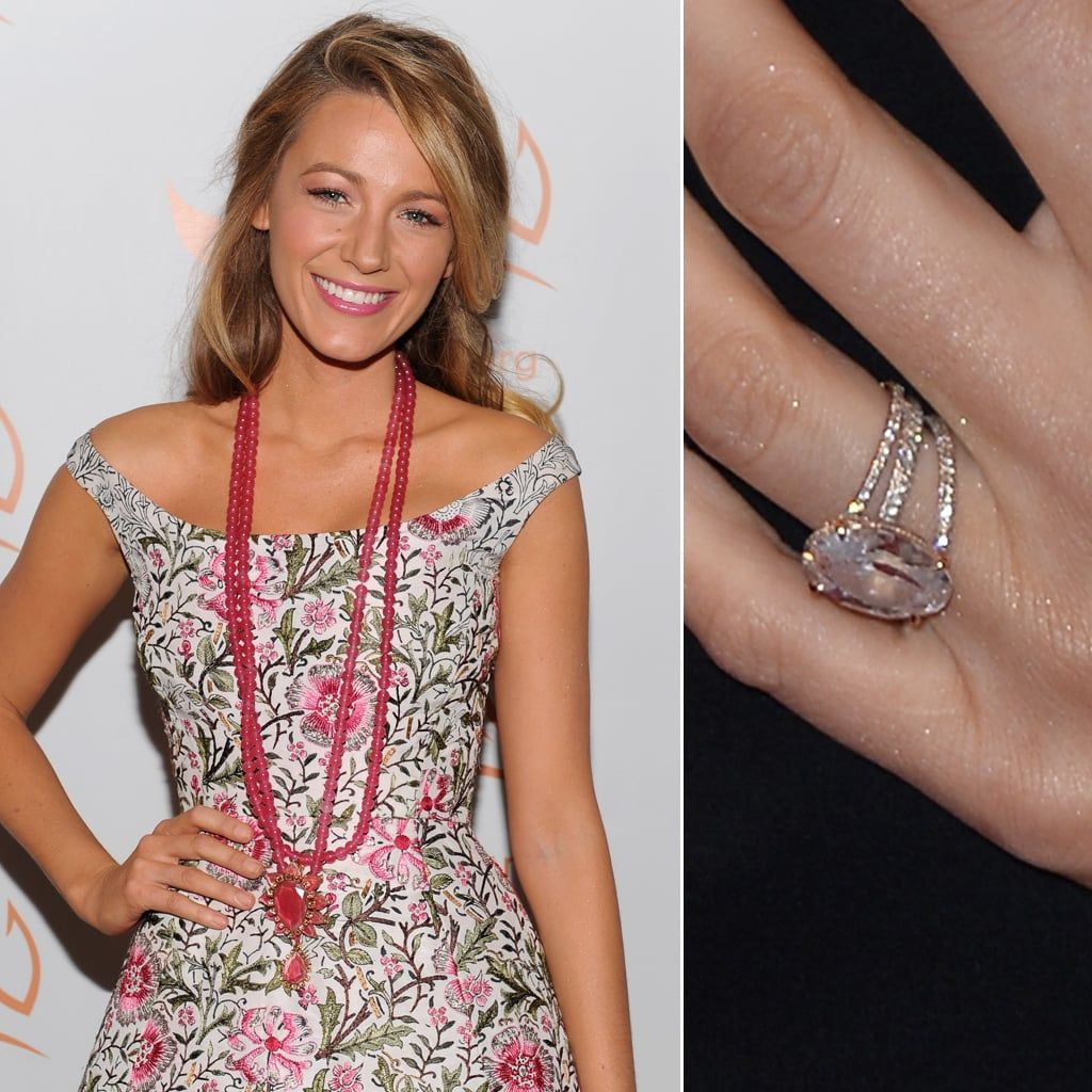 Blake Lively Blake lively engagement ring, Blake lively
