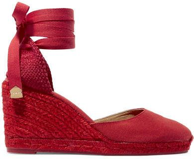 3aed22c337d Castañer - Carina 80 canvas wedge espadrilles in 2019   Products ...