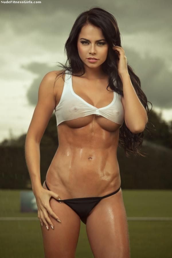 Girl fitness model nude