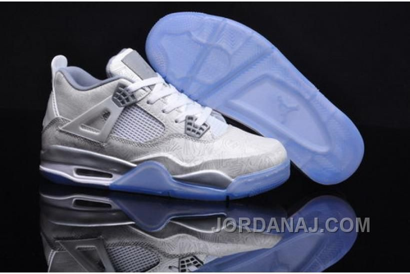 new product b6b74 0896f NEW ZEALAND NIKE AIR JORDAN IV 4 LASER 5LAB4 RETRO MENS SHOES ONLINE RICE WHITE  BLUE NEW Only 83.13€ , Free Shipping!
