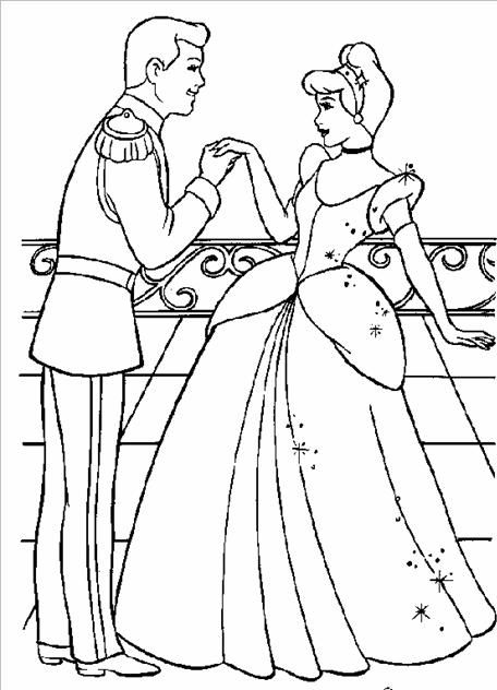 LA CENICIENTA dibujos color y para COLOREAR | Coloring Pages