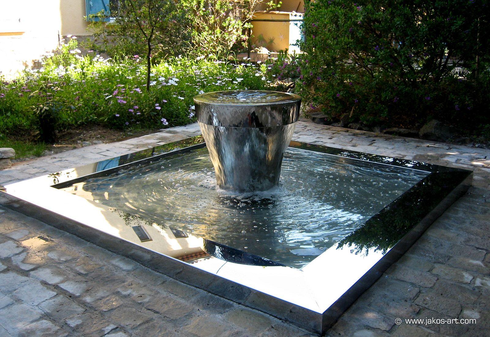 fontaine extérieure patio | Rénovation d\'une maison et extension à ...