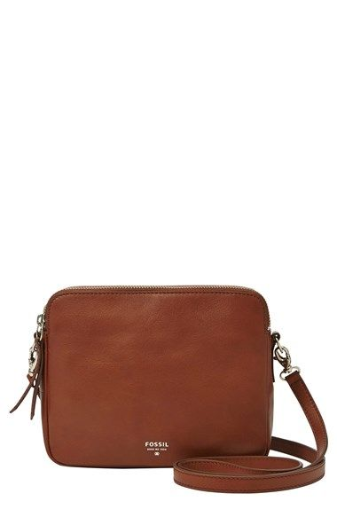 Fossil  Sydney  Leather Crossbody Bag  8dbf894d14ed1