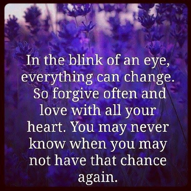 Everything Can Change In The Blink Of An Eye Quotes Quotes