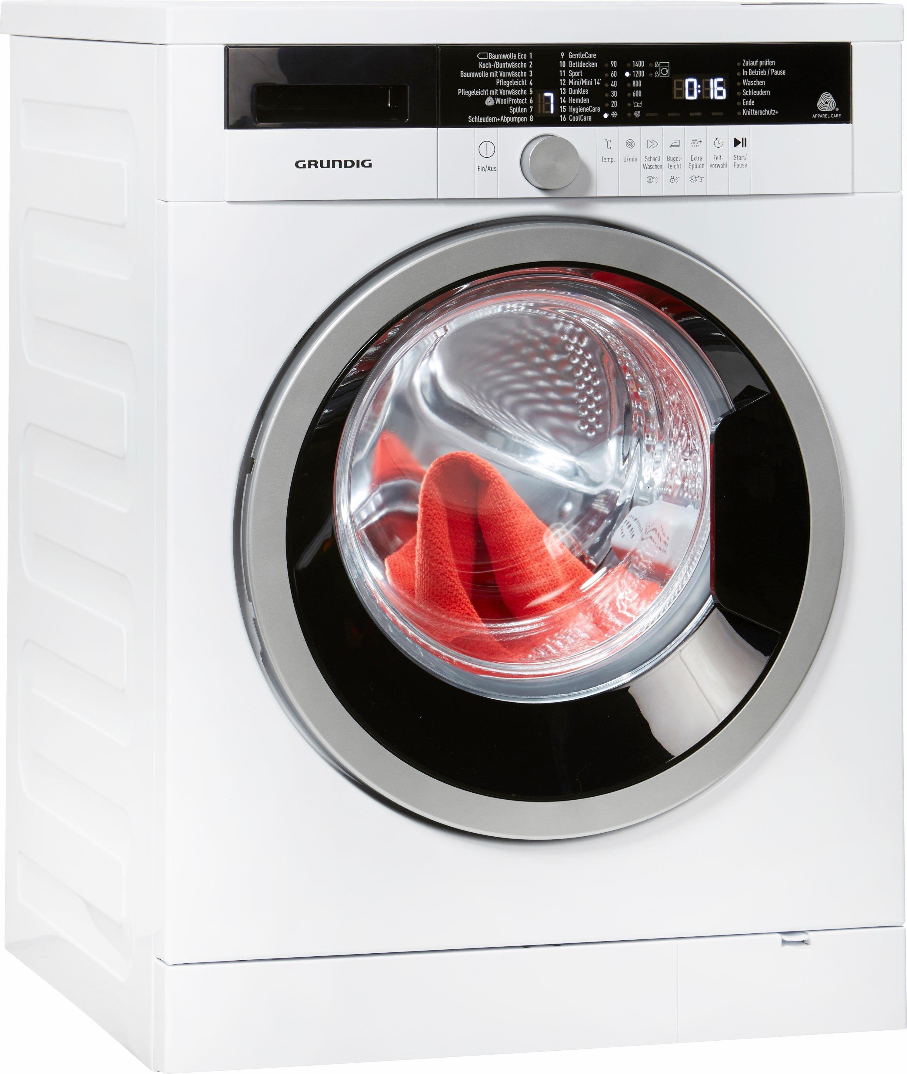 Grundig Waschmaschine Gww 384311 8 Kg 1400 U Min Waschmaschine